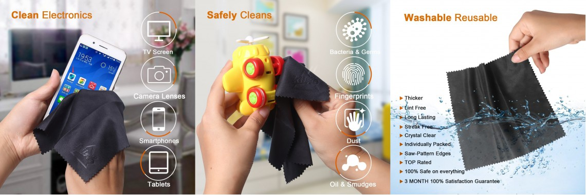 Microfibers Cleaning Cloths